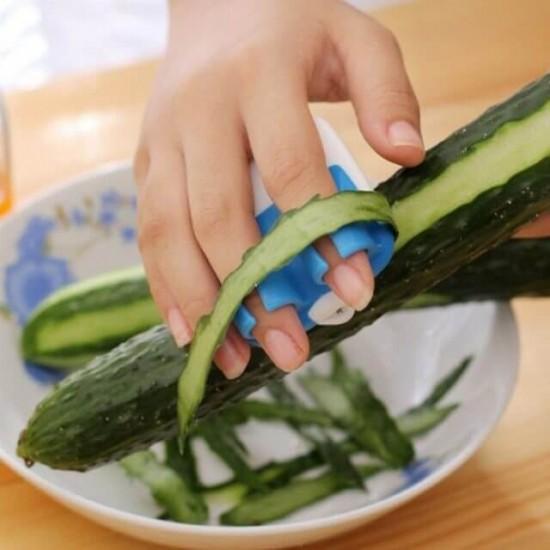 Zöldség és gyümölcs hámozó