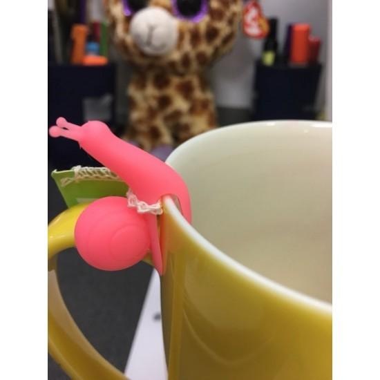 Csiga Teafilter Tartó 5 db-os szett
