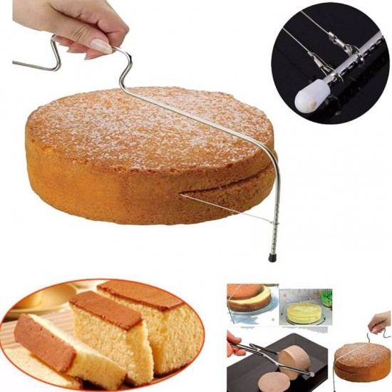 Tortaszeletelő, tortavágó, piskóta szeletelő