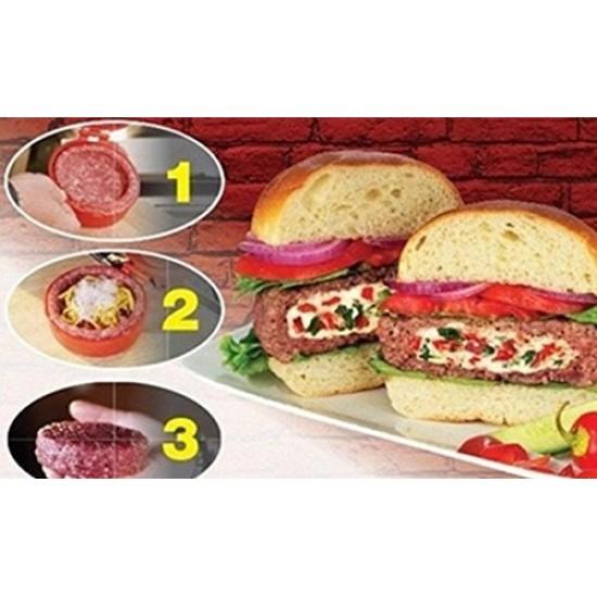 Hamburgerhús-formázó