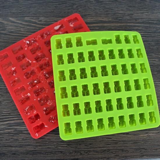 Gumicukor forma, házi gumicukor készítõ, gumimaci forma