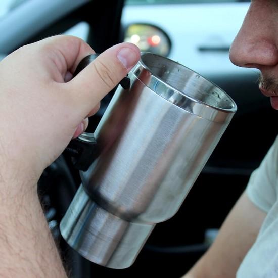 Szivargyújtóról melegíthetõ pohár– termosz