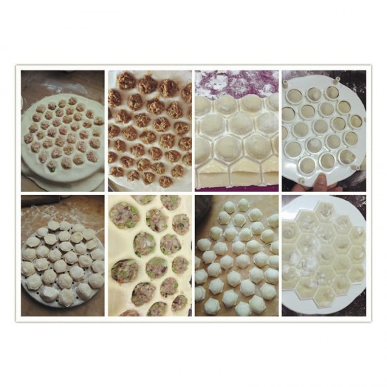 Töltött tészta készítõ forma
