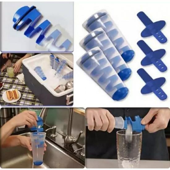Jégkockakészítõ, jégkrém forma, 2 az 1-ben jégkrémkészítõ