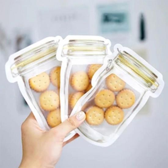 3 méretû, ételtároló tasak csomag (10 db)