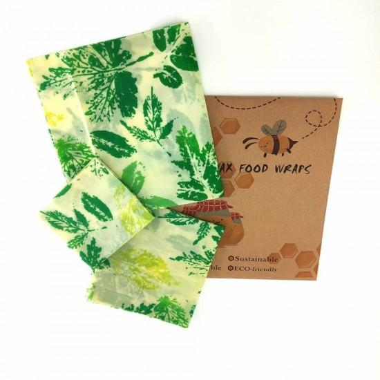 Méhviasz élelmiszer csomagoló Levél