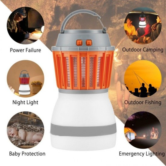 2 az 1-ben LED szúnyogírtó lámpa