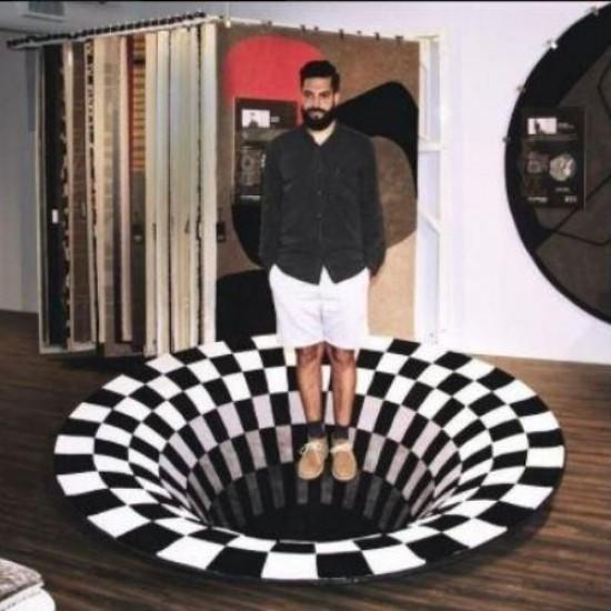 3D térhatású szőnyeg