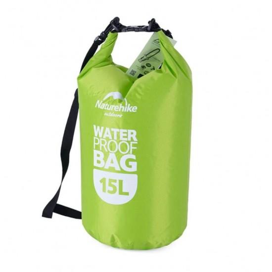 Vízálló hátizsák Zöld